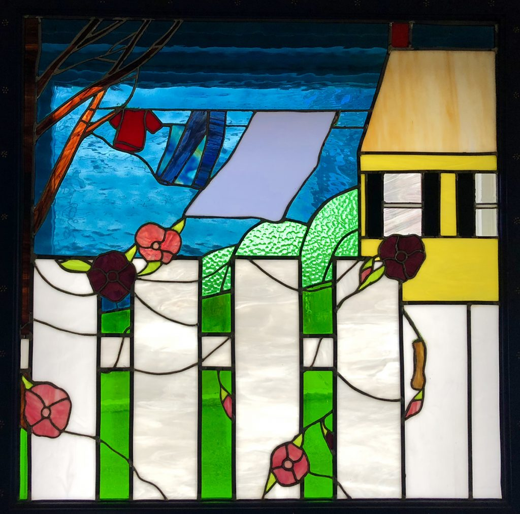 Stained Glass Window by Manette Jungels